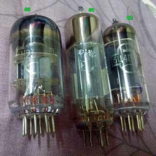 整流管 前級管 膽: EZ80 6X46Z4 6DJ8 E88CC