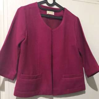 Pink Outer/Blouse