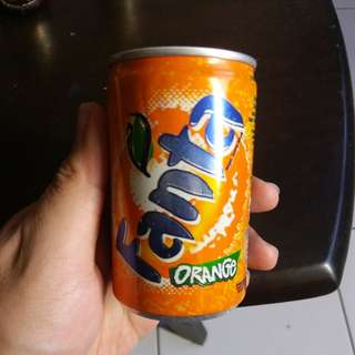 Fanta miniature can ( collectable )