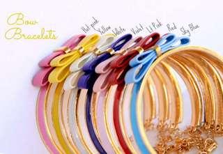 Bow Bracelets