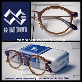 OG x Oliver Goldsmith Baker round spectacles 眼鏡