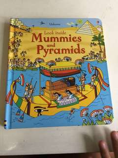 Usborne - mummies and pyramids