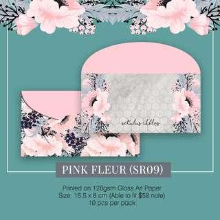 Sampul Duit Raya-Pink Fleur SR09