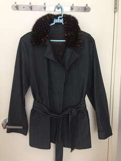 Louis Vuitton Denim Lady Jacket