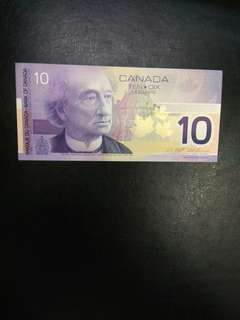Canada 10 dollars 2001 issue