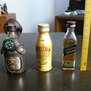 Selling liquor miniature bottle ( 3 for rm 45)