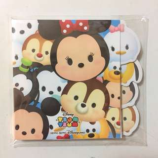 Disneyland Tsum Tsum sticky note