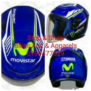 Helmet Yamaha Movistar