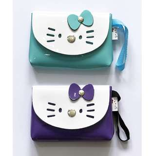 Kitty Buckle Purse (Glossy)
