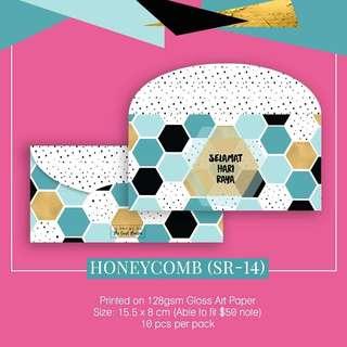 Sampul Duit Raya- Honeycomb SR14