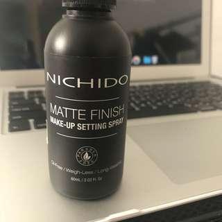 Nichido Matte Finish Make-Up Setting Spray