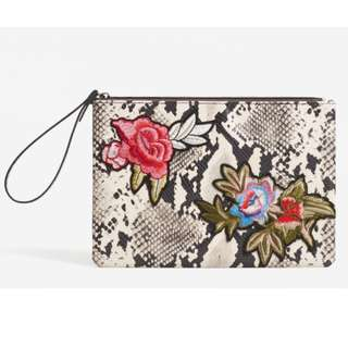 Mango Blossom Embroidered Clutch *New