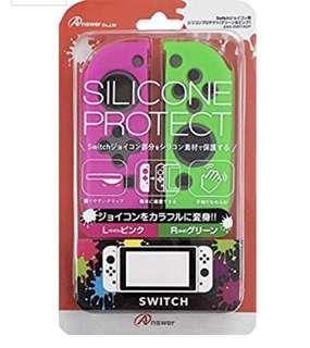 Nintendo Switch - JoyCon Cover(Pink/Green)