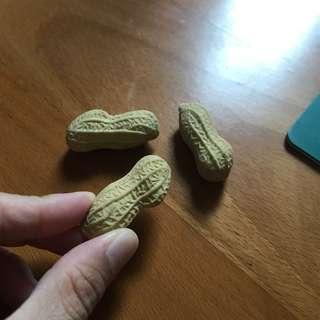 Cute peanut eraser!