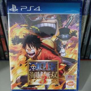 PS4 - One Piece: Pirate Warriors 3 (Japanese Ver.)
