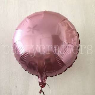 Foil Helium Balloons (Pink)