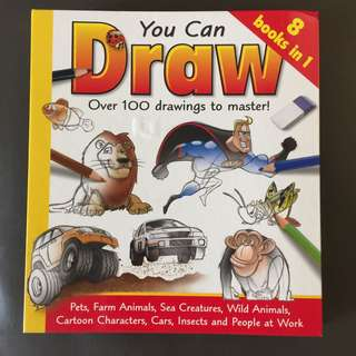 How to draw , origami, party ideas set of 3 art books for kids