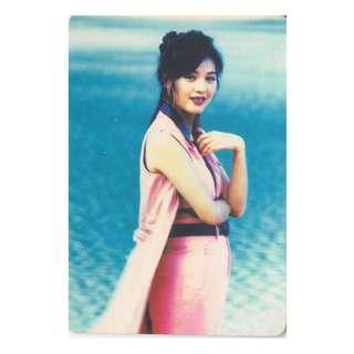 55-R,YES CARD-劉小慧-背面曲詞-風中的夢