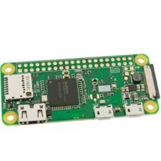 Raspberry Pi Zero W (free USB cable with power button and dual USB adapter 2A/1A)