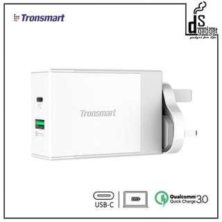 TRONSMART W2DT (PD+QC3.0) 48W USB Wall Charger