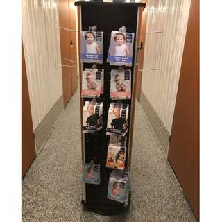 Display Spinner Racks with Hooks