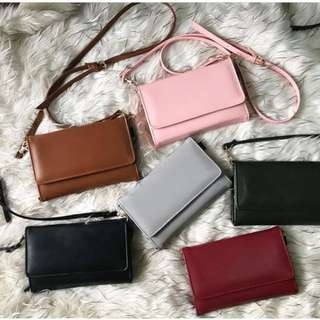 Mobile Wallet Sling Purse