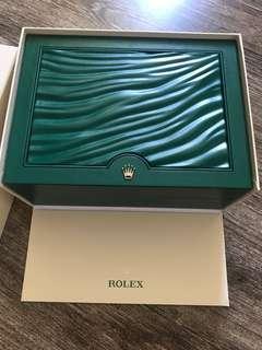 Rolex 勞力士大錶盒100%new