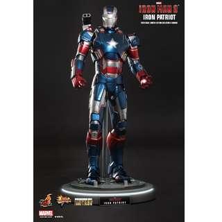 Hot Toys Iron Patriot Diecast