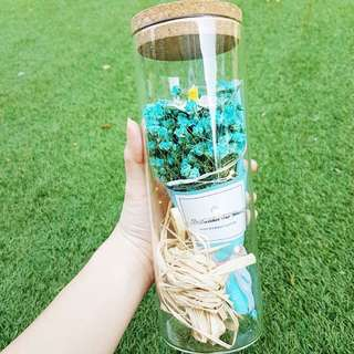 Turquoise blue Baby's Breath w/ LED lights