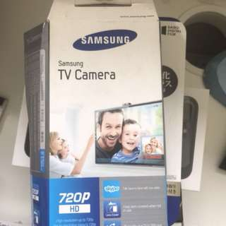 Samsung TV Skype Camera