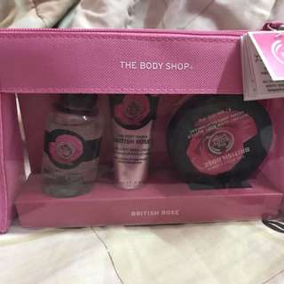 The Body Shop Gift Set - British rose