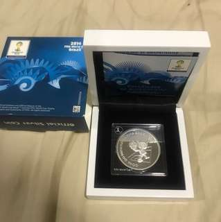 FIFA World Cup 2014 commemorative coin