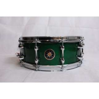 Sakae Snare Drum Maple Righty Halo (Rain Forest)