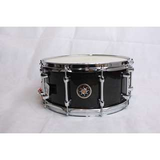 Sakae Snare Drum Maple Righty Halo (See-through black)