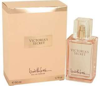 Victoria's Secret  BREATHLESS Eau De Parfum 50ml