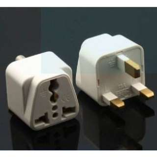 Narken Universal UK 3 Pin Travel Plug/Socket/Adapter