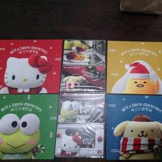 📣包郵📮地鐵車票~MTR & Sanrio 暖笠笠過聖誕