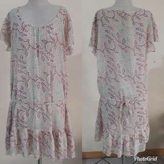KOREAN SEE THRU DRESS M/L