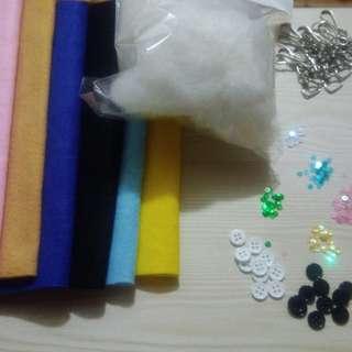 Felt cloth craft starter pack
