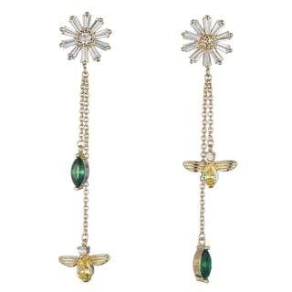 Korean Crystal Dangle Earring
