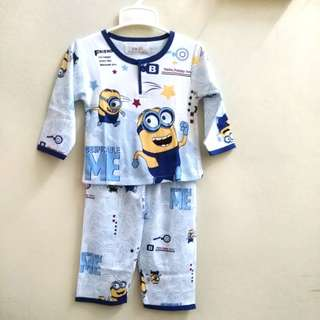 Kids  pyjamas  minion 2-4 Year