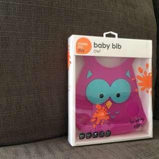 Baby Bib- Owl