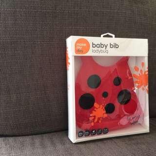 Baby Bib - ladybug