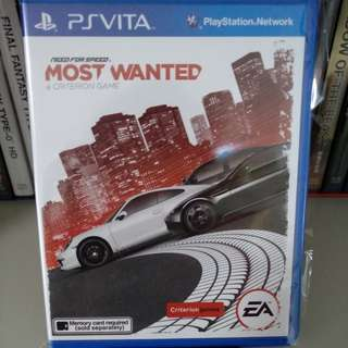 PS Vita - Need For Speed: Most Wanted