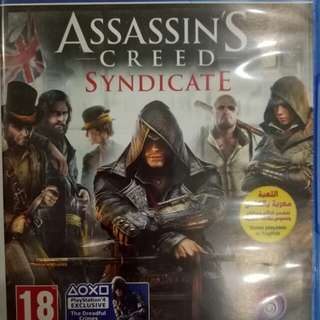 Kaset ps4 assasins creed syndicate