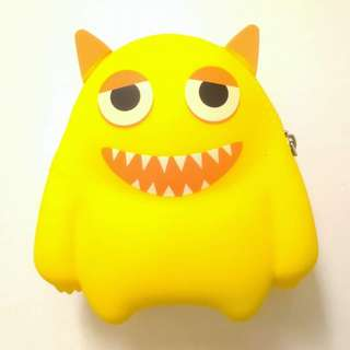 Yellow Monster Pouch