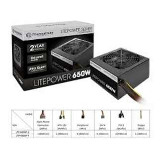 Thermaltake Litepower 650W Power supply PSU