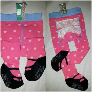 LEGING BABY GIRL 0 -6 MONTH