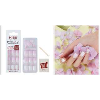 Kiss press-on gel manicure