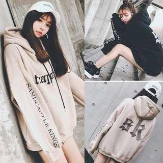 Korean kpop jpop pullover Oversized Jacket hoodie cool bts snsd exo got7 girl guy unisex